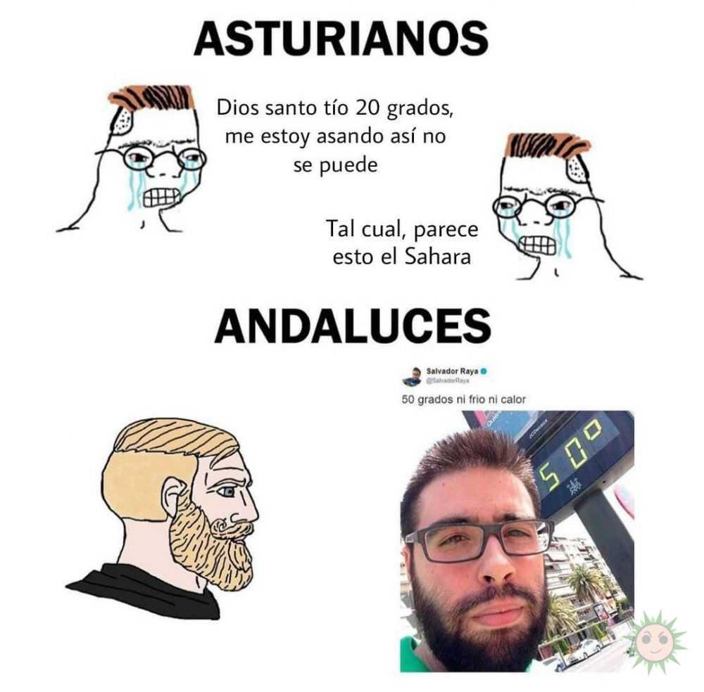 Asturianos vs Andaluces