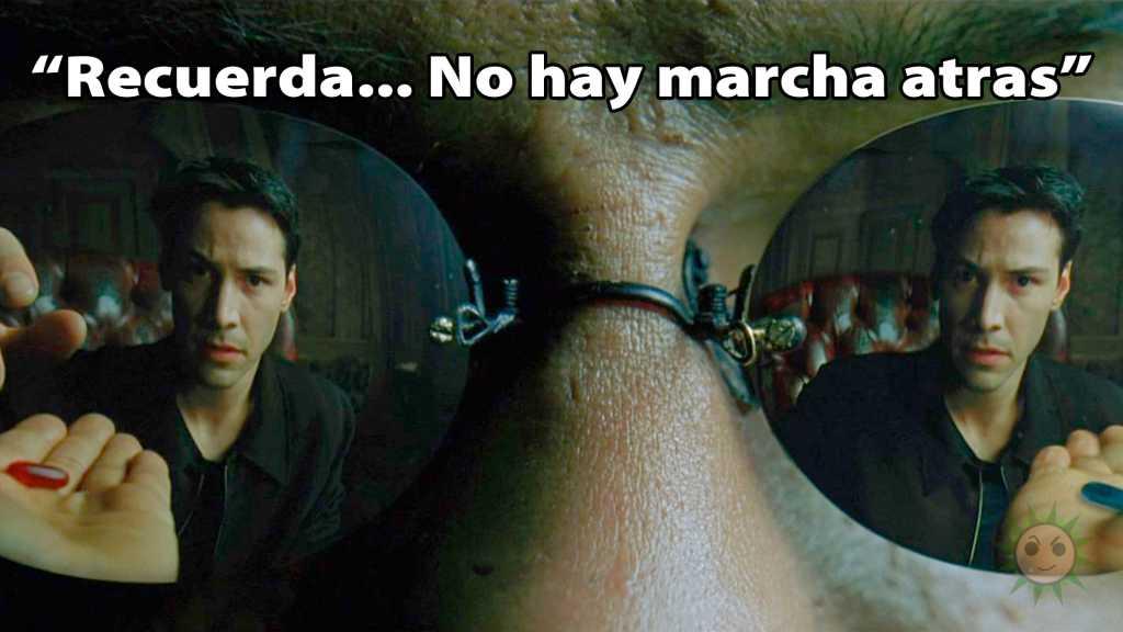 Matrix ya nos advirtió